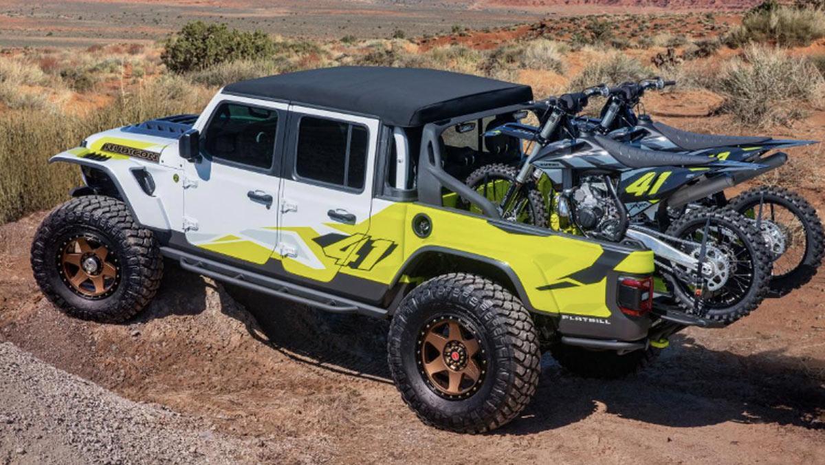 Concept Jeep Flatbill, tres cuartos trasero