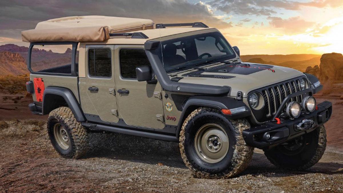Concept Jeep Wayout, tres cuartos delantero