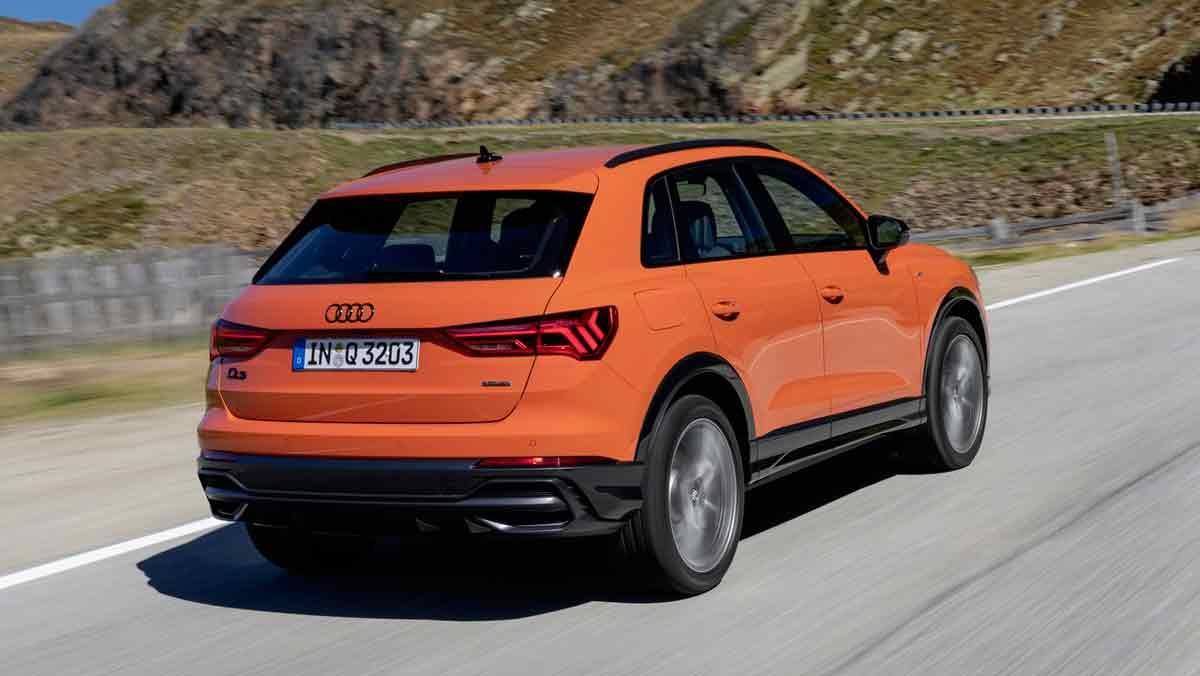 Dinámica Audi Q3 2019