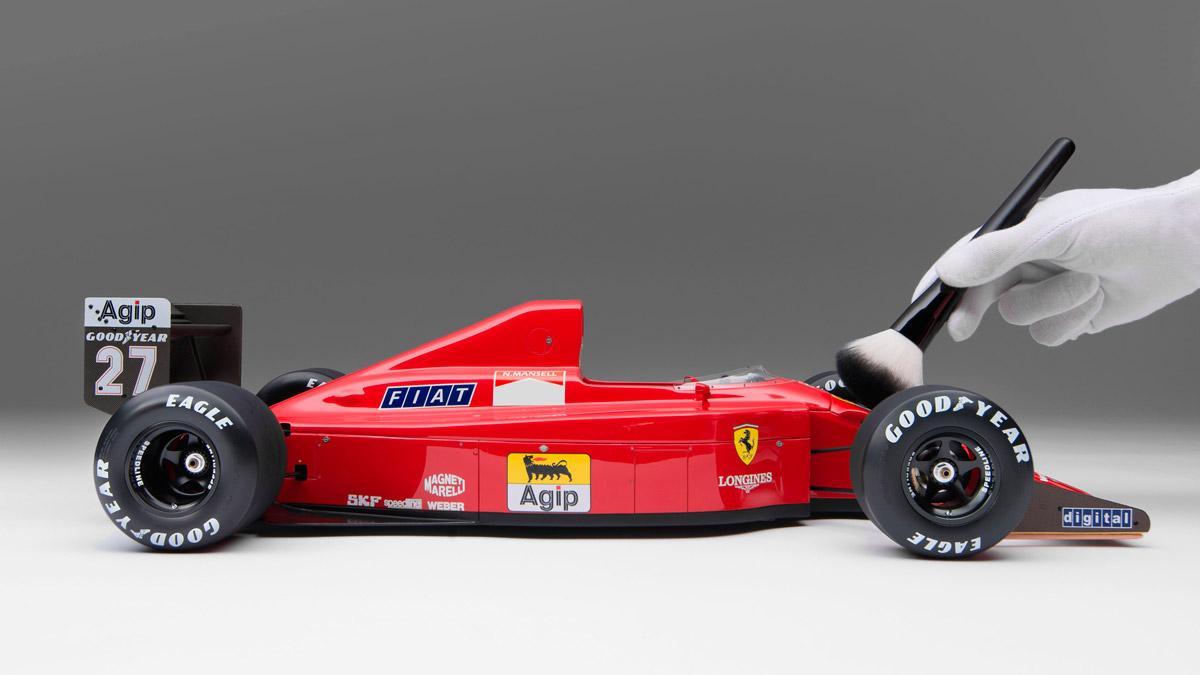 maqueta lujo nigell mansell formula 1 f1