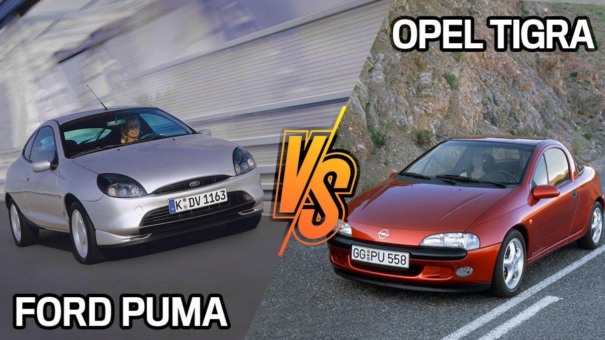 Ford Puma u Opel Tigra