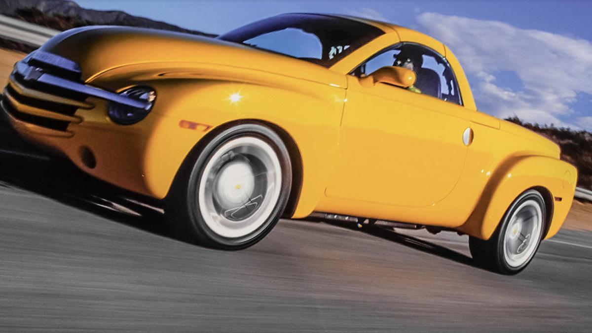 Fracasos ventas coches, Chevrolet SSR