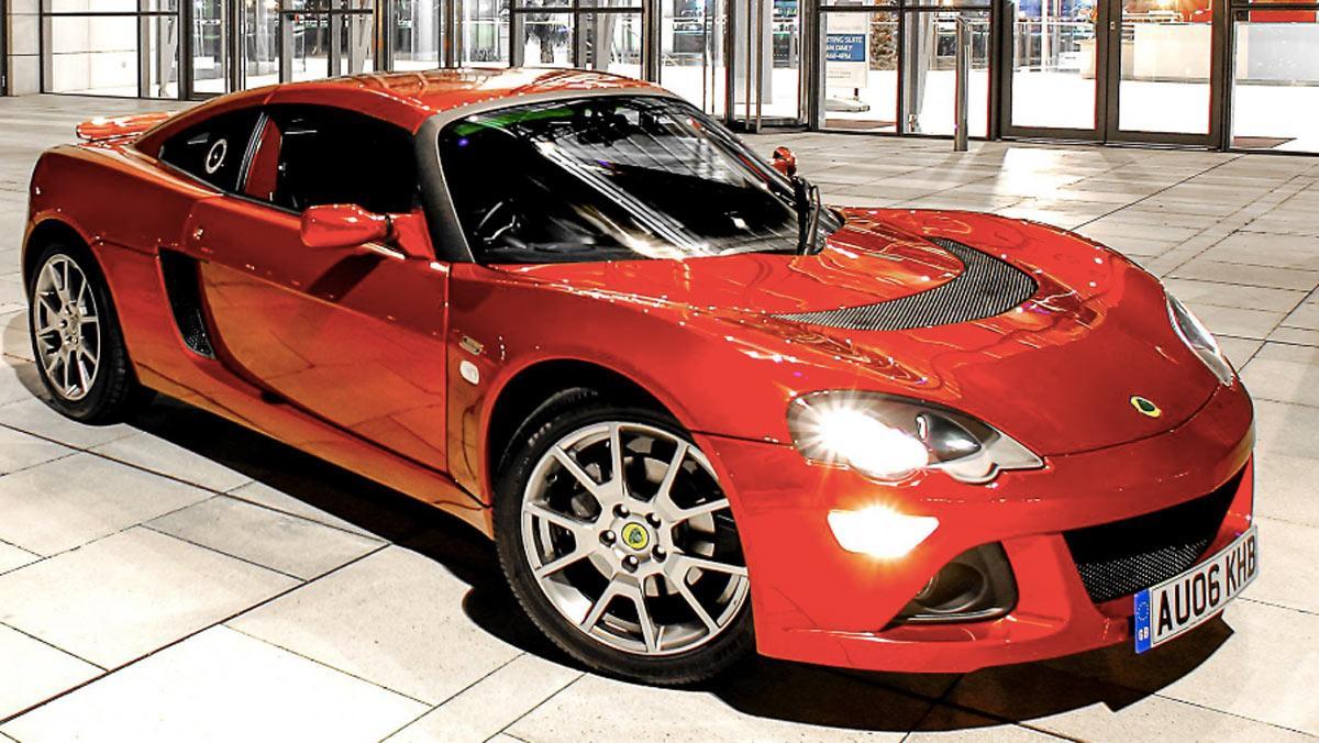 Fracasos ventas coches, Lotus Europa