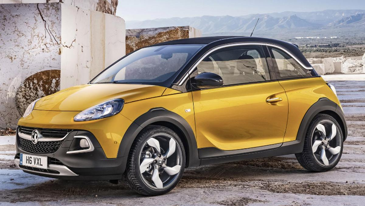 Fracasos ventas coches, Opel Adam Rocks