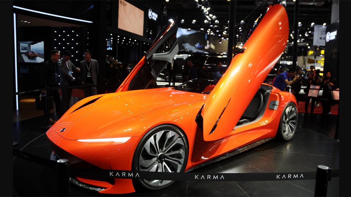 deportivo roadster electrico shanghai