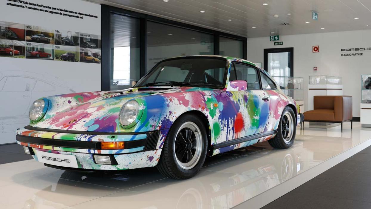 Exposición itinerante de Porsche