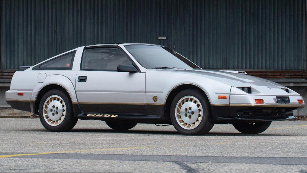 Nissan 300ZX Turbo, Subasta, tres cuartos delantero