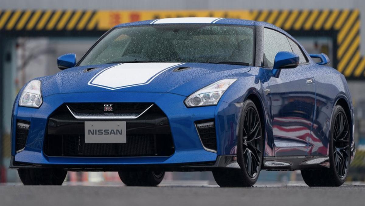 Nissan GT-R 50º Aniversario, tres cuartos delantero