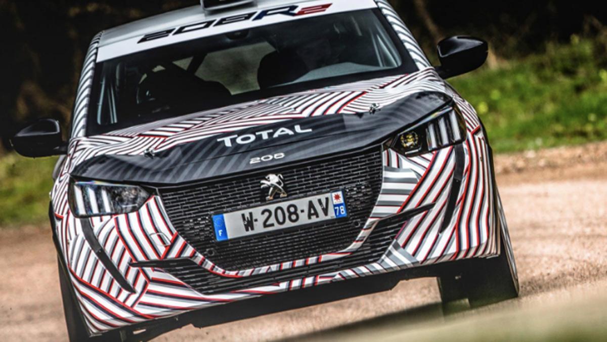 Peugeot 208 R2 2020, frontal, dinámica