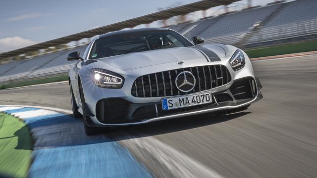 Prueba del Mercedes-AMG GT R Pro
