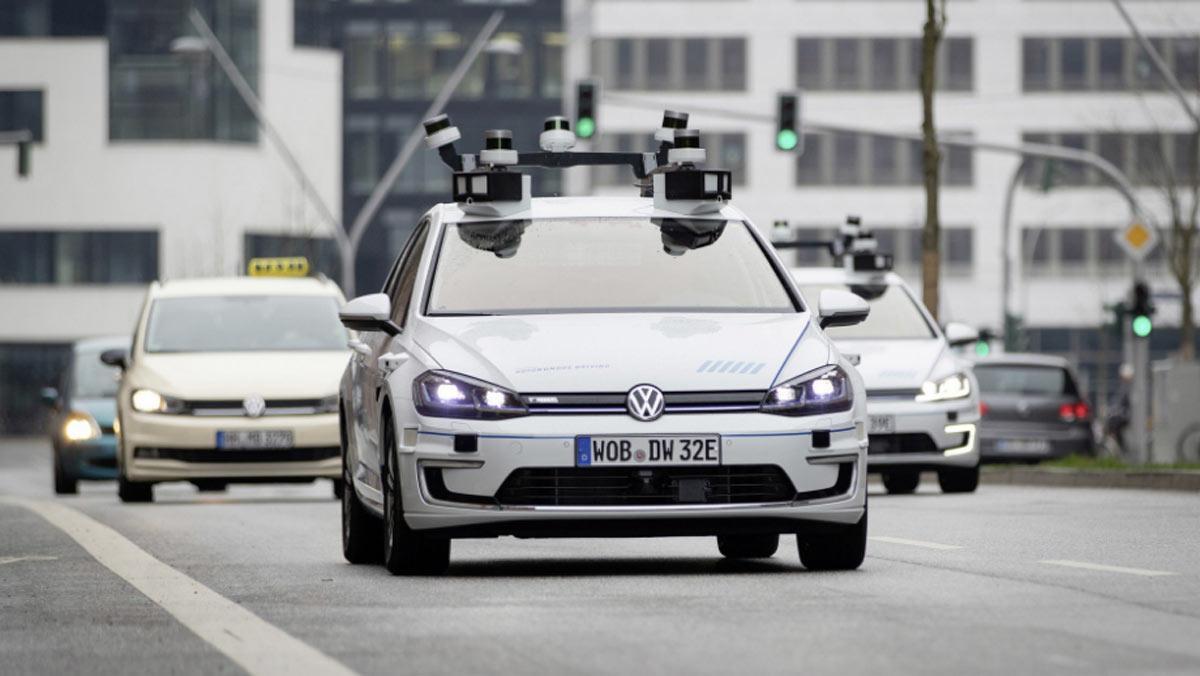 Volkswagen e-Golf autónomo, dinámica