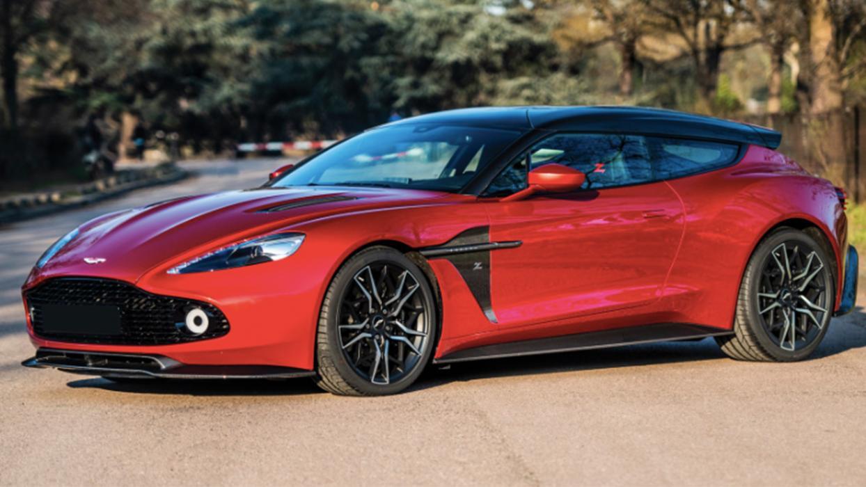 Aston Martin Vanquish Zagato Shooting Brake de 2019