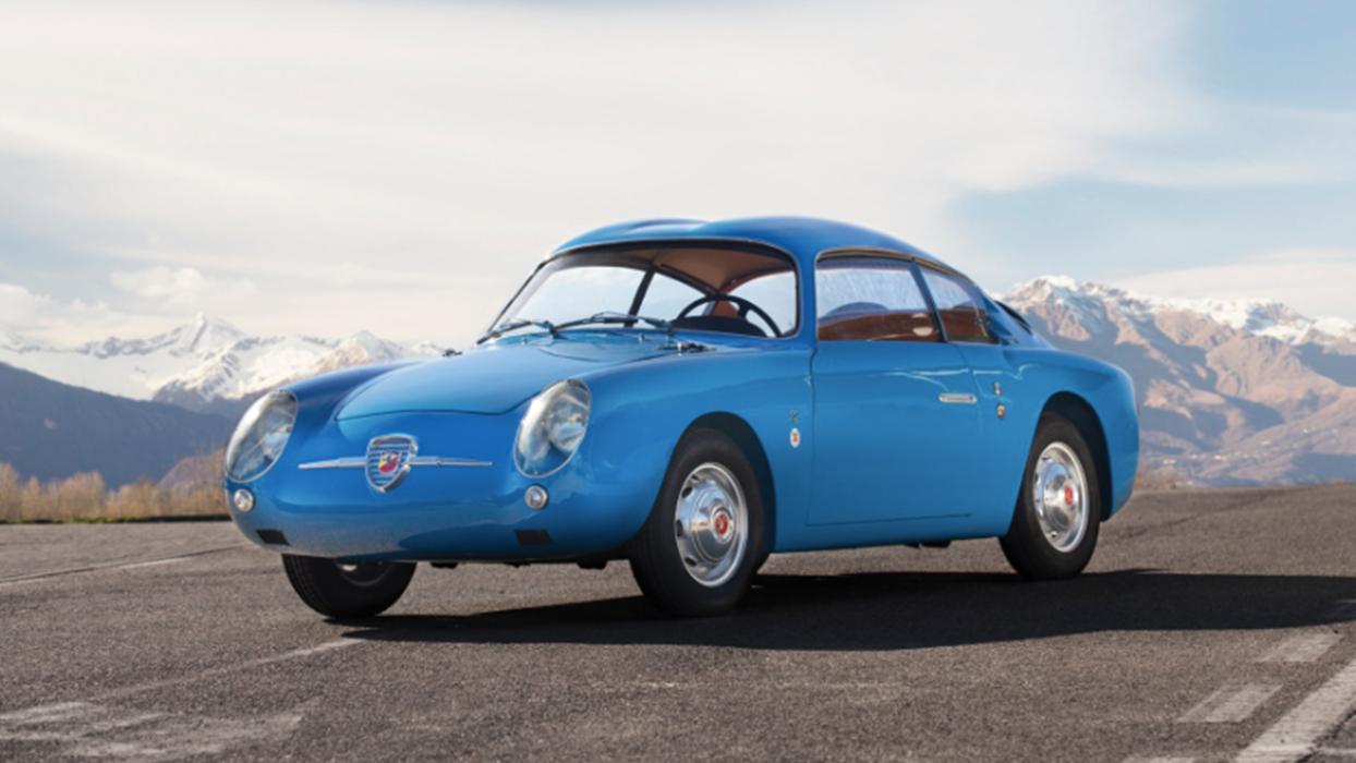 Fiat-Abarth 750 GT 'Double Bubble' Zagato de 1959