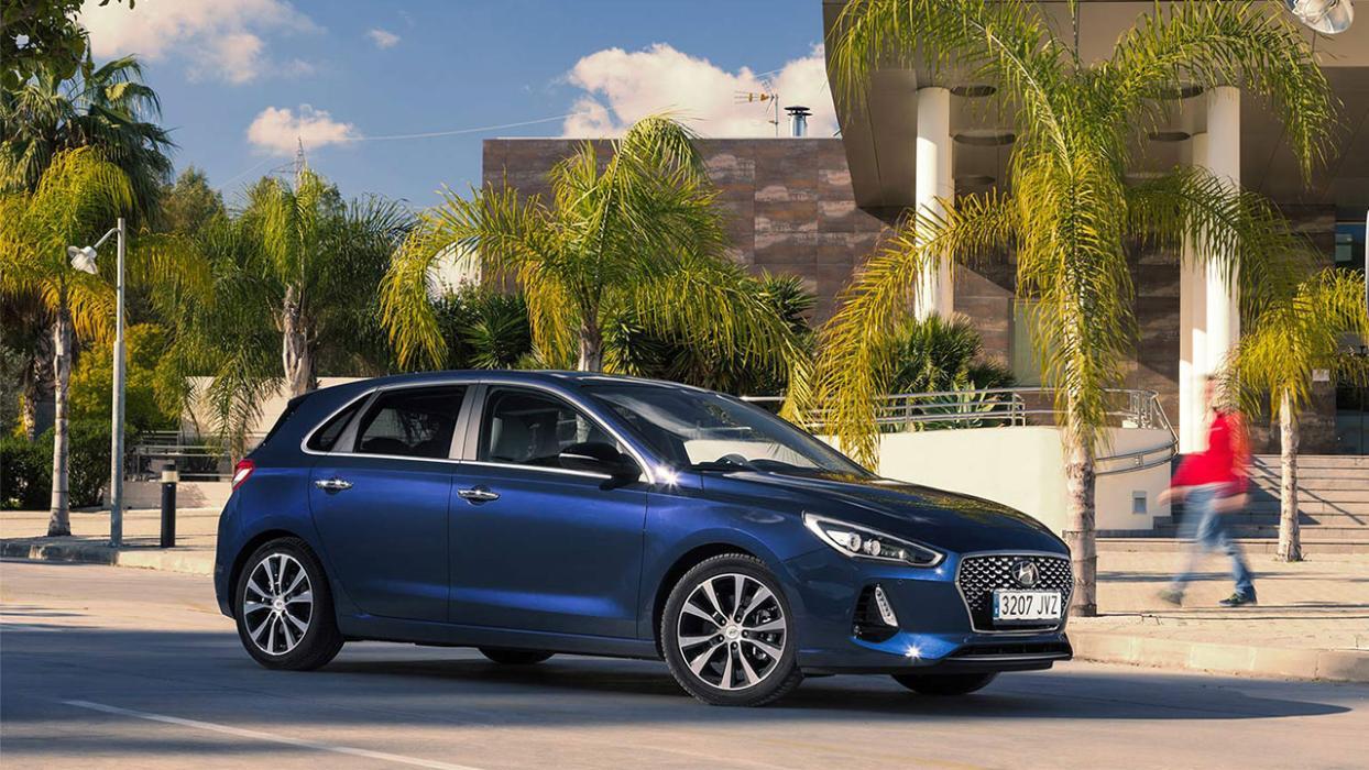 Hyundai i30 perfil