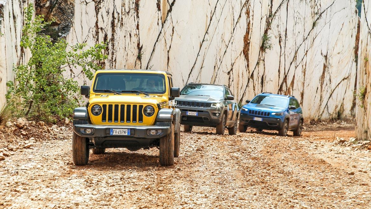 wrangler compass cherokee 4x4 off road todoterreno