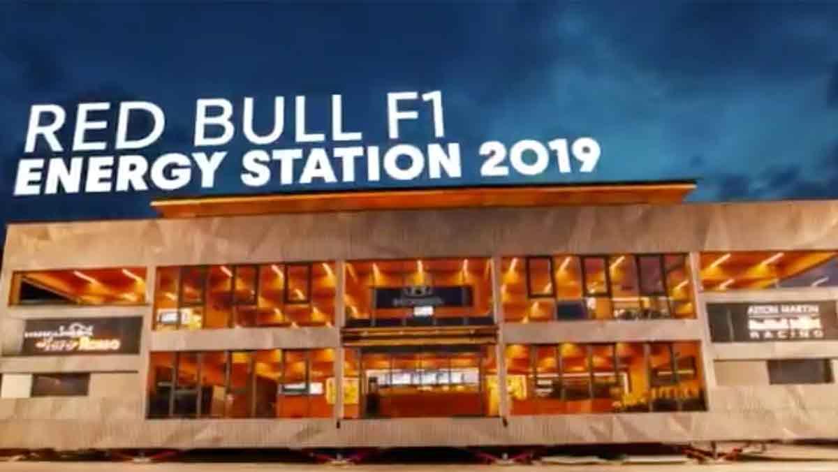 Red Bull Motorhome 2019