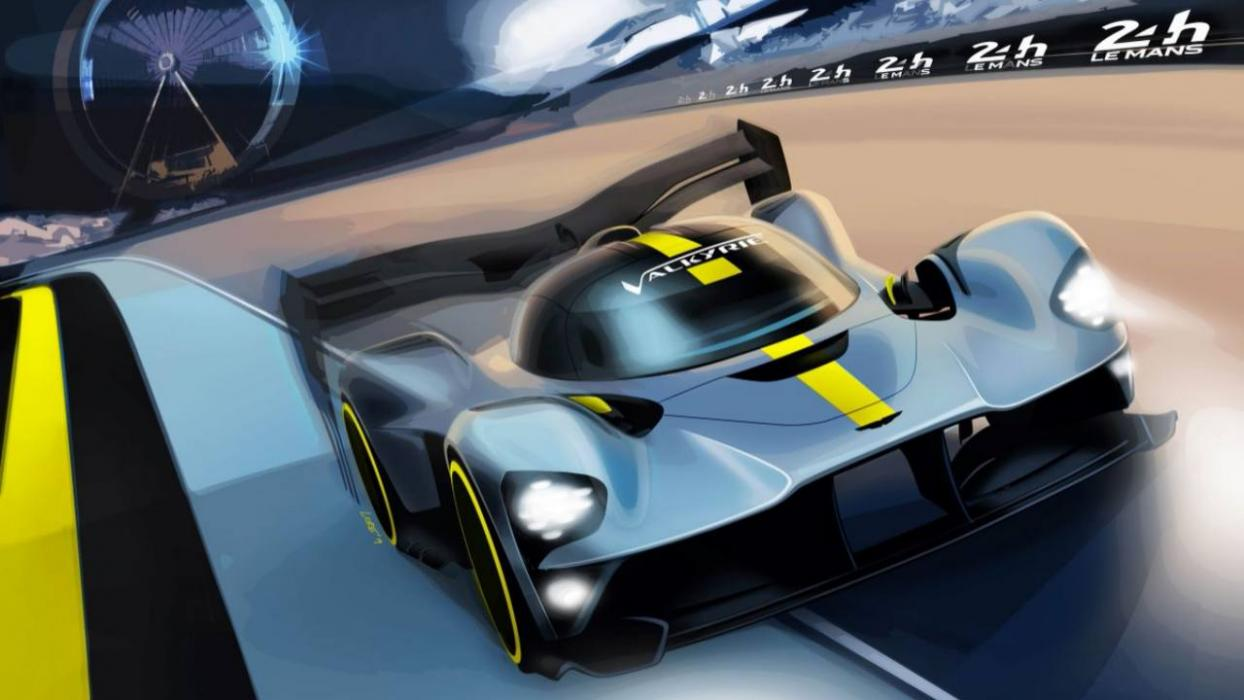 Aston Martin Valkyrie para Le Mans