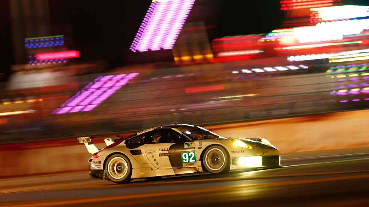 Porsche 911 en Le Mans