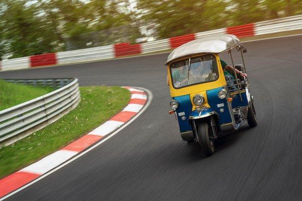 Tuk-Tuk en Nürburgring