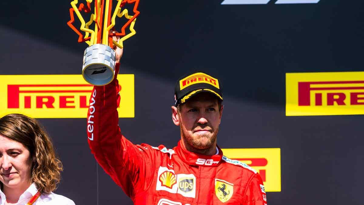 Vettel podio Canadá