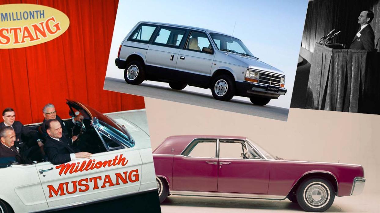 De Ford a Chrysler, del Mustang al Voyager