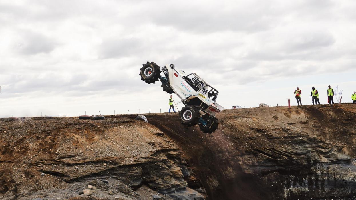 volar imbatible off-road salvaje todoterreno off road