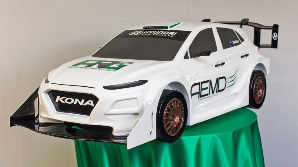 Hyundai Kona eléctrico de rallys