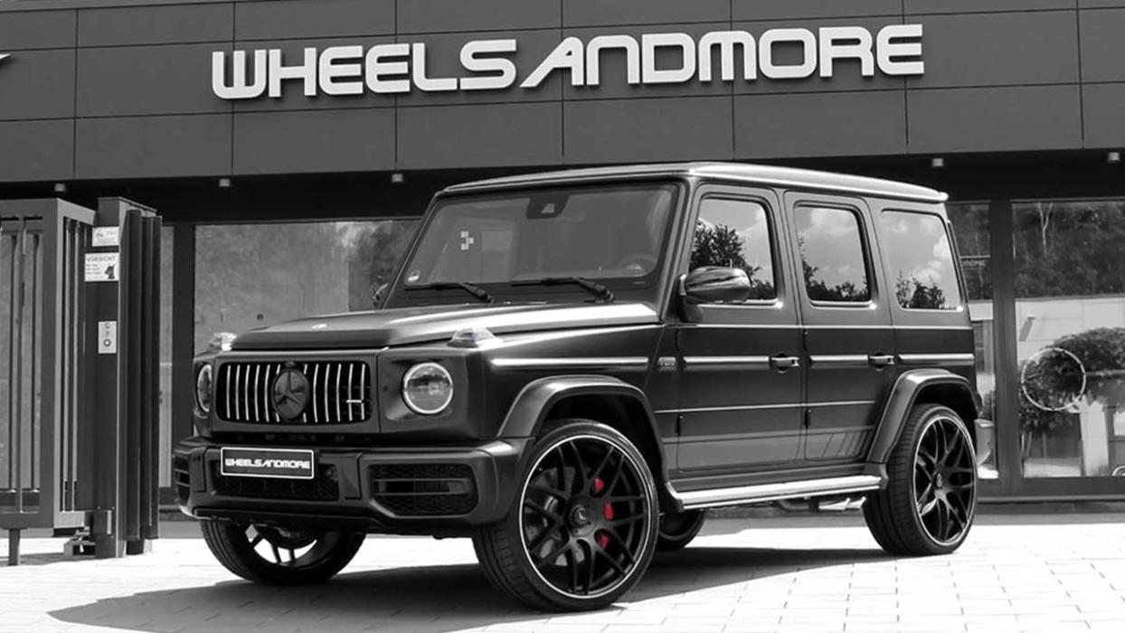 Mercedes G63 Wheelsandmore