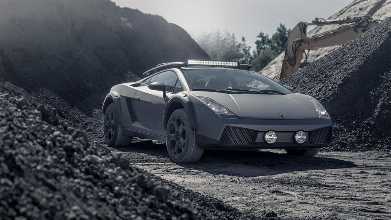 Lamborghini Gallardo sobreelevado