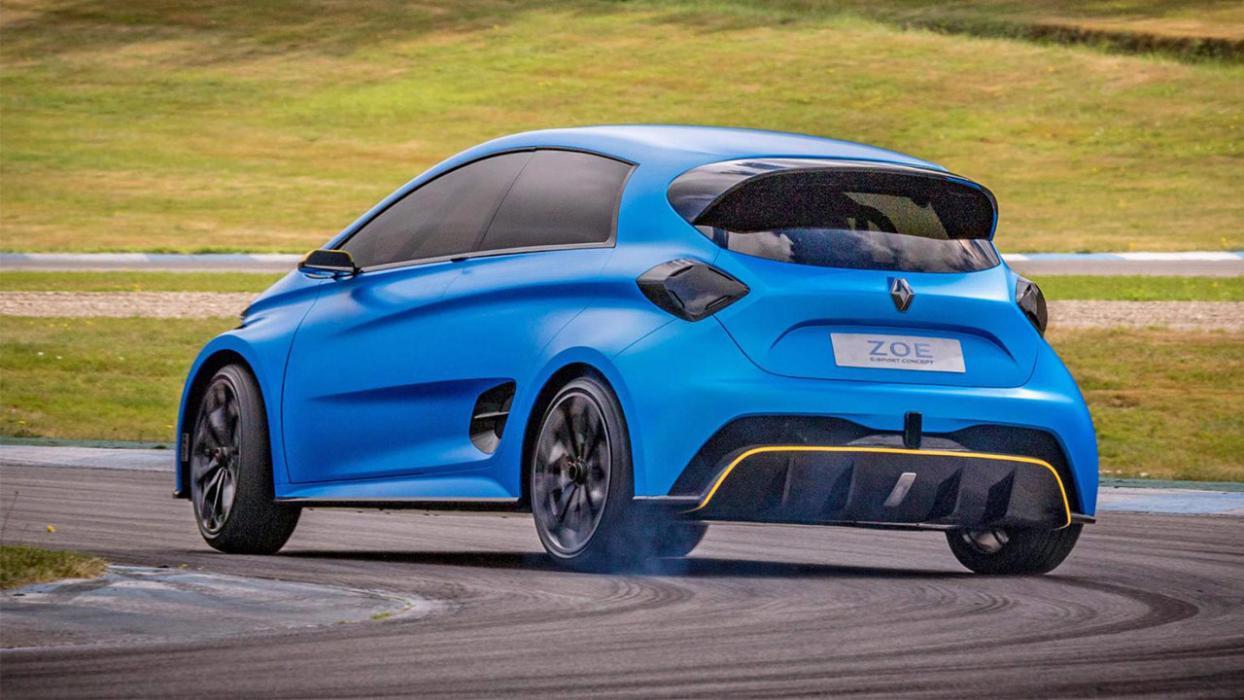 Renault ZOE eSport trasera