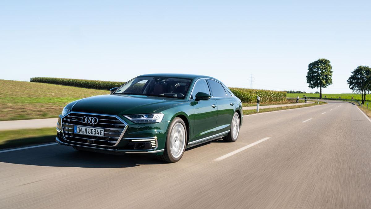 Audi A8 Verde Goodwood