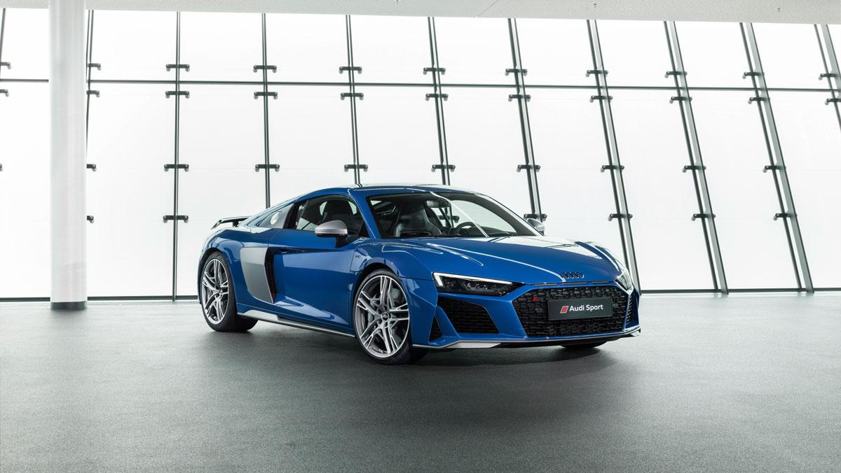 Audi R8 Azul Ascari