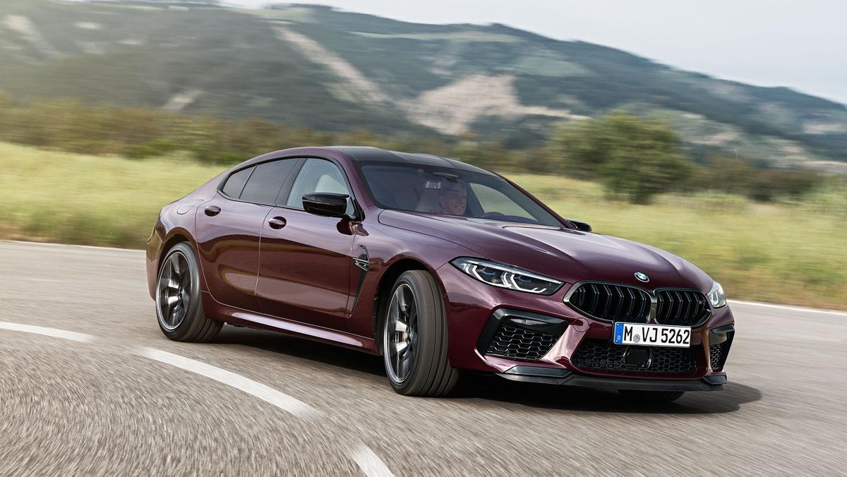 BMW M8 Gran Coupé Competition 2020