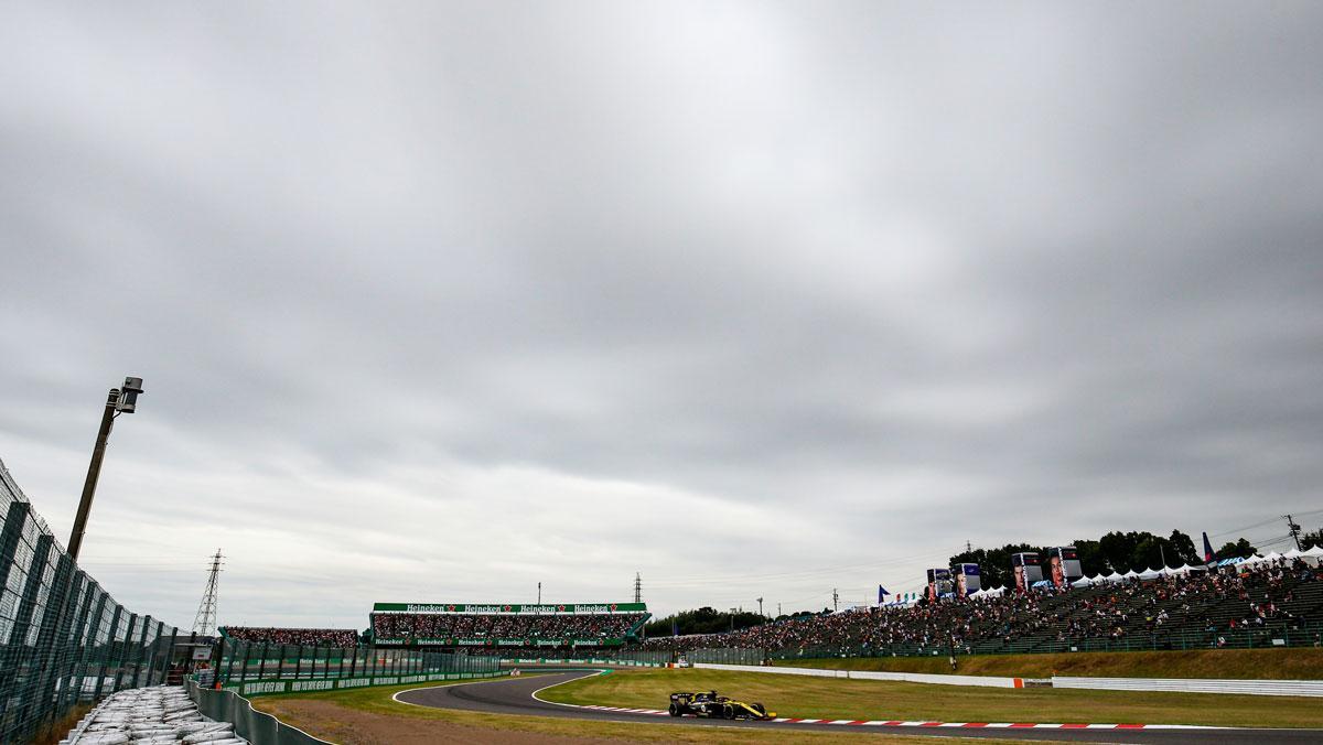 GP Japón F1 2019 tifón
