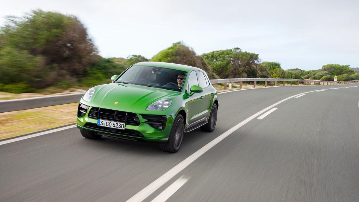 Porsche Macan Verde Mamba