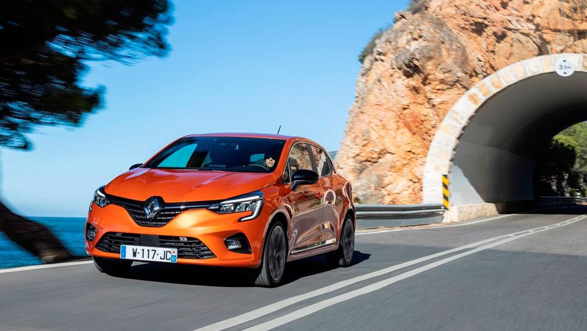 Renault Clio naranja Valencia