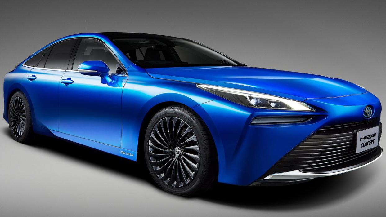Toyota Mira Concept frontal
