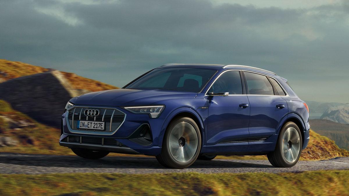 Audi e-tron más autonomía