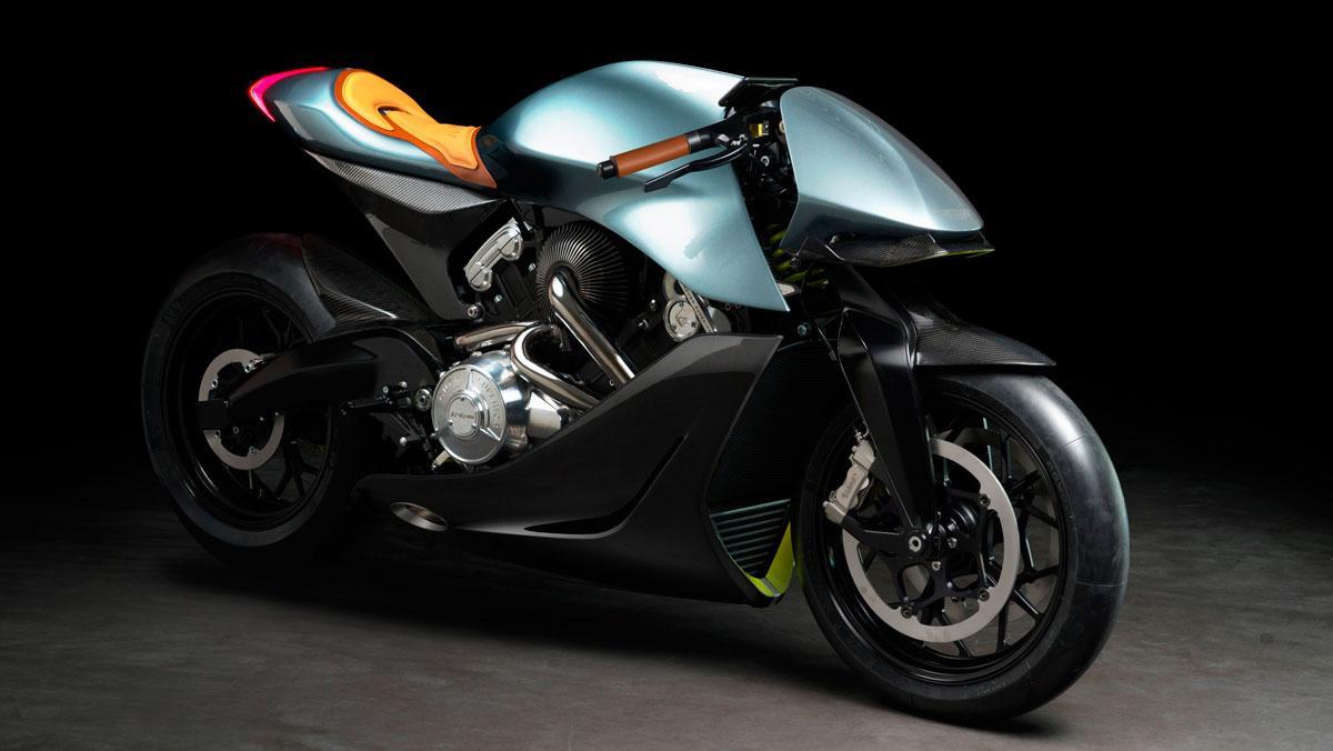 Moto Aston Martin AMB 001
