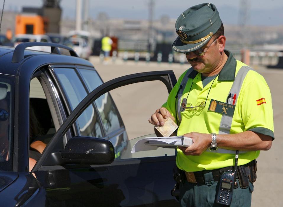 Multa de tráfico Guardia Civil