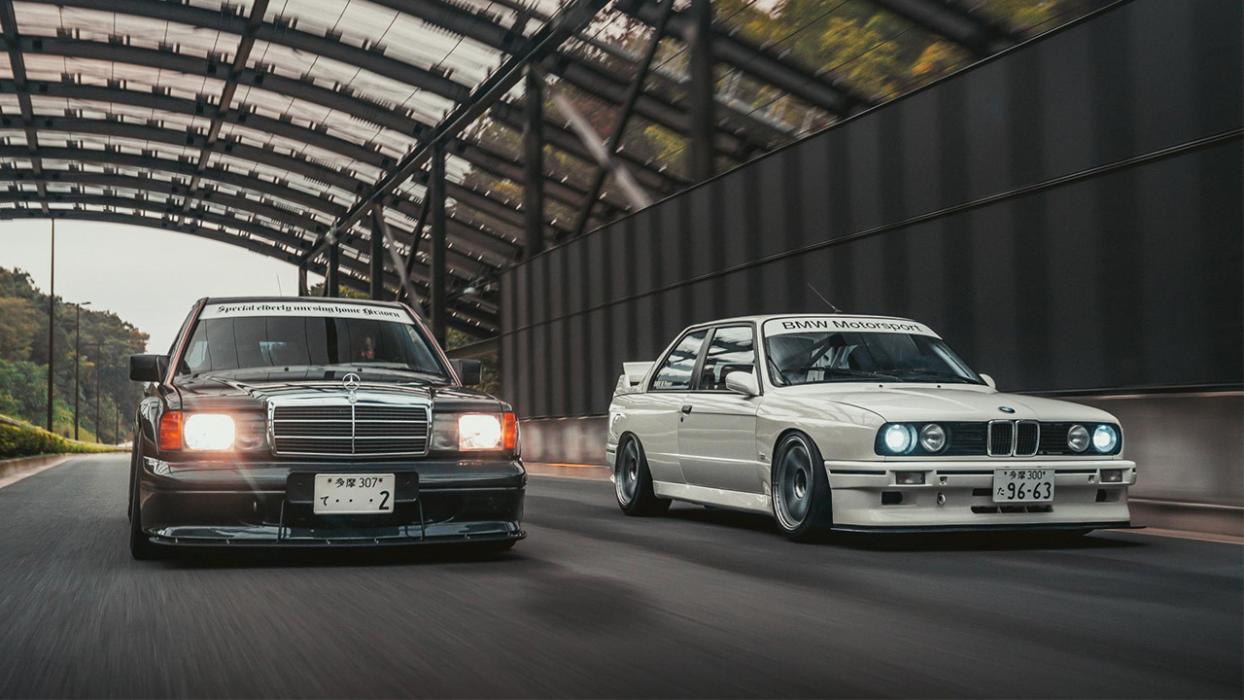 BMW M3 E30 o Mercedes 190E 2.3 16