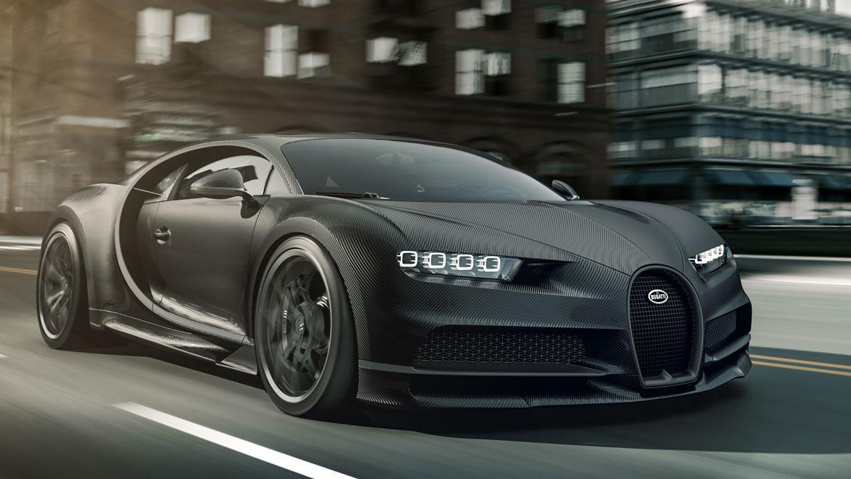 Bugatti Chiron Noire