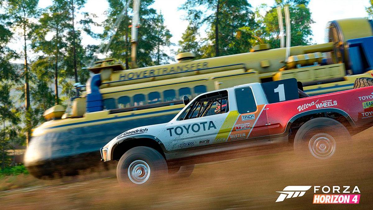 Coches nuevos Forza Horizon 4