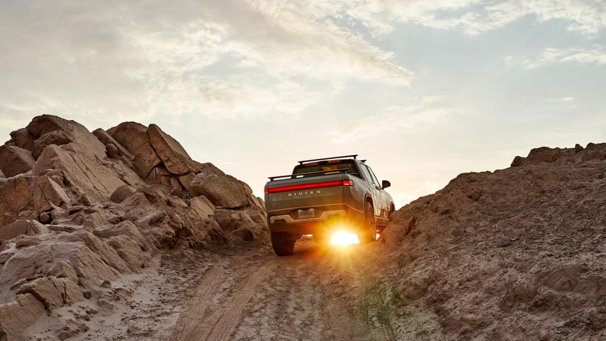 El Rivian R1T llegará a finales de 2020 y tendrá auténticas capacidades off road