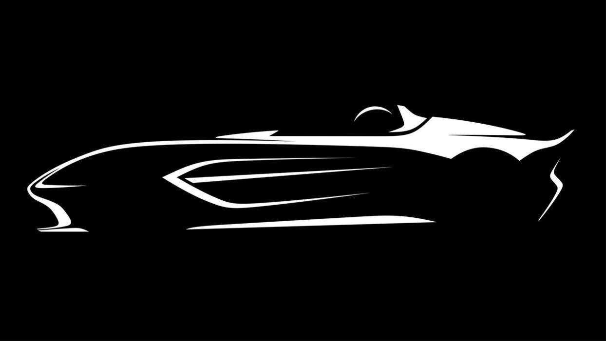 Aston Martin V12 teaser