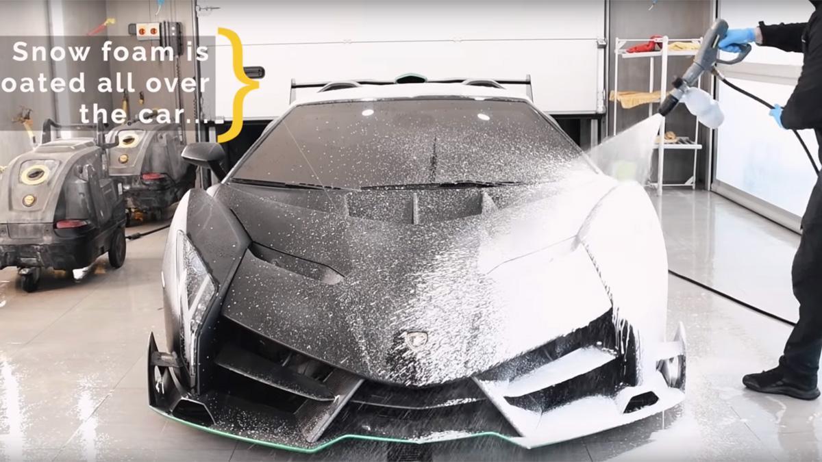 superdeportivo topaz limpiar coche jabon hiperdeportivo cuidado mantenimiento