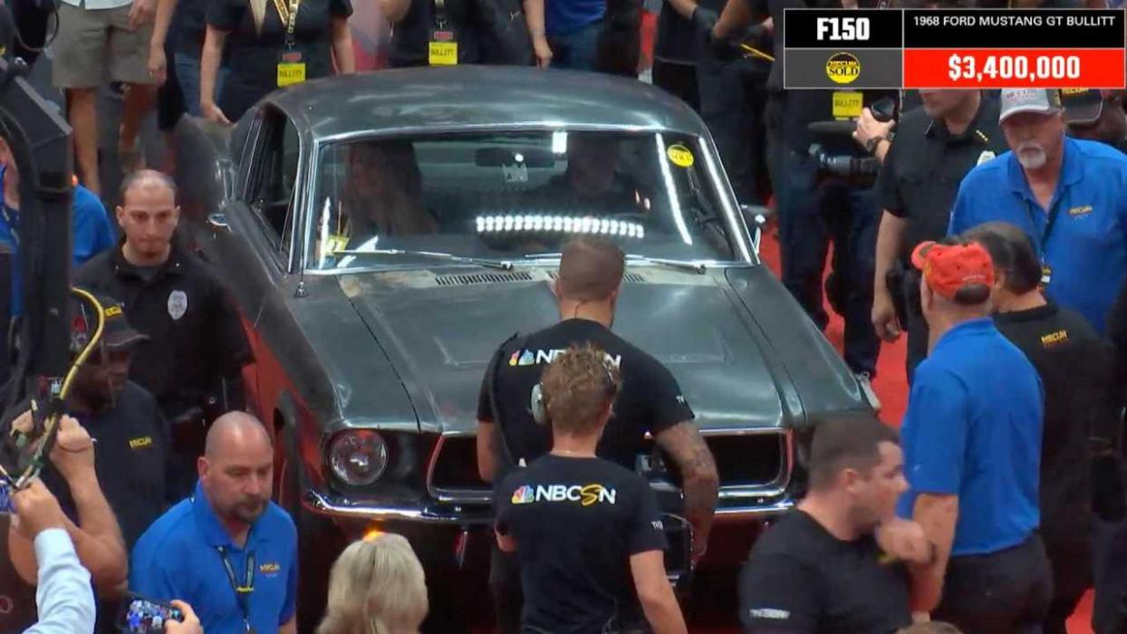 Vendido Ford Mustang Bullitt original