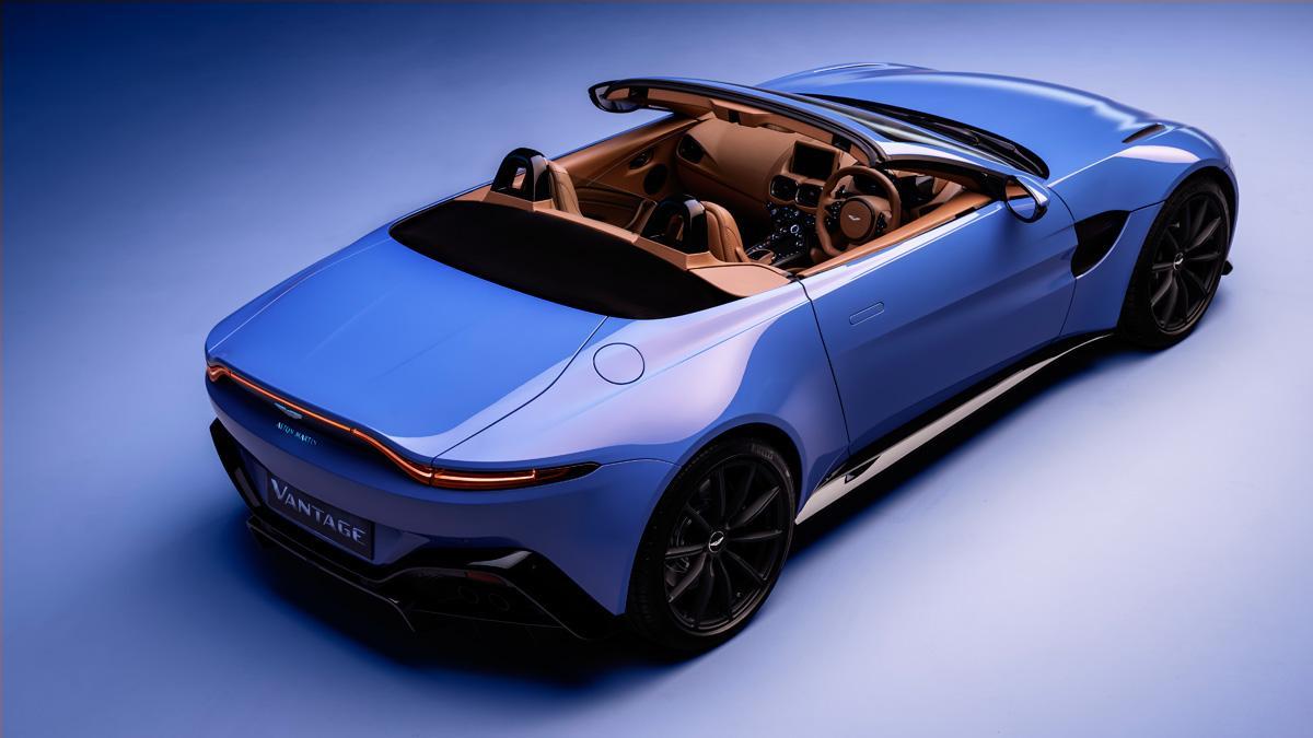 descapotable cabrio azul deportivo lujo altas prestaciones