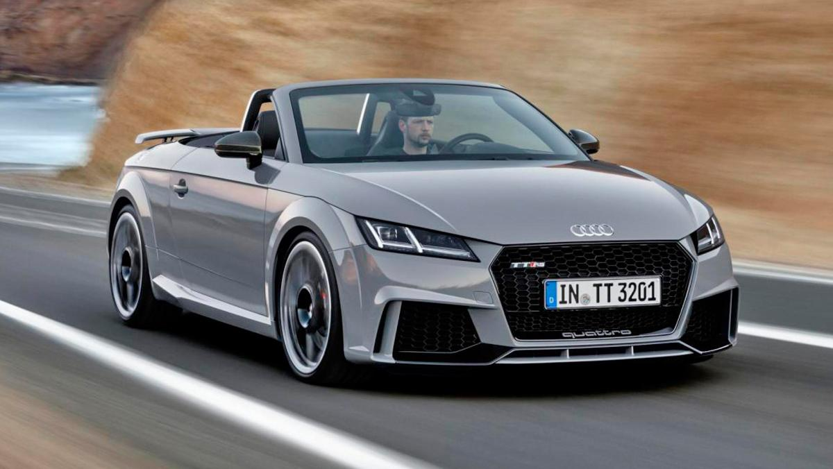 Audi TT RS Roadster frontal