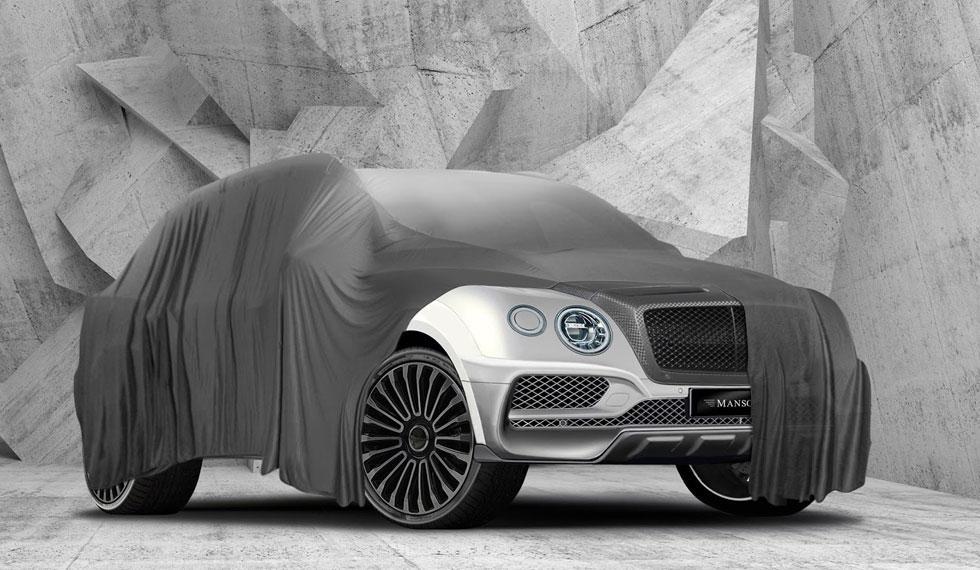 Bentley Bentayga Mansory SUV lujo teaser nuevo preparado